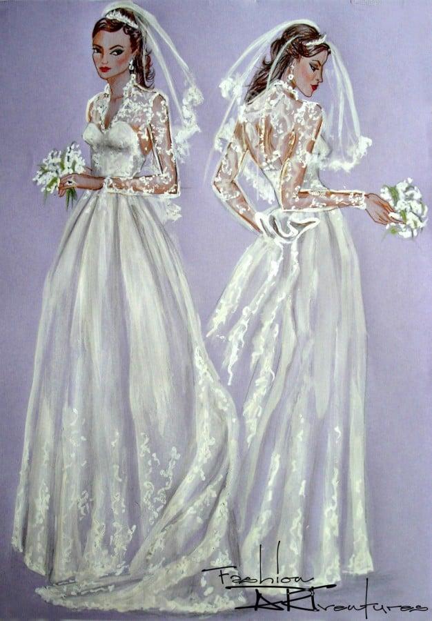 Michaela koleva author at fashion artventures for Wedding dress kate middleton style