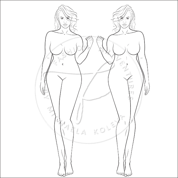 Naturally Curvy Fashion Template Product Image