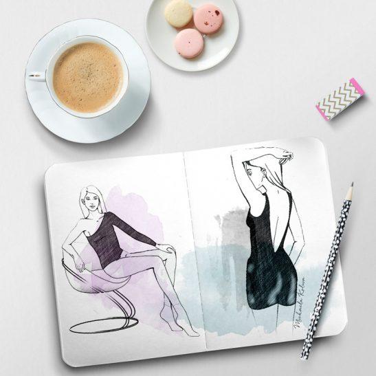 The Basic Bundle   Sample Sketchbook