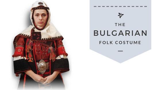 The Bulgarian Folk Costume Cover