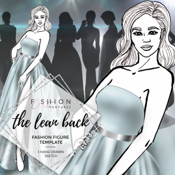The Lean Back Fashion Template Cover | Red Carpet