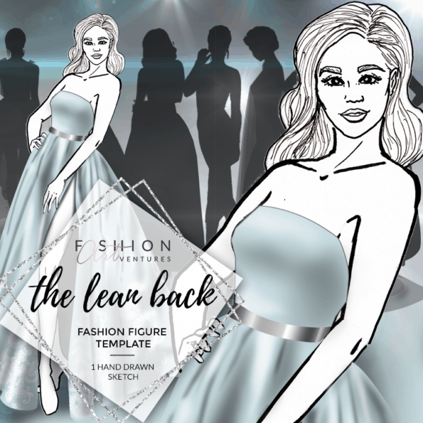 The Lean Back Fashion Template Cover   Red Carpet